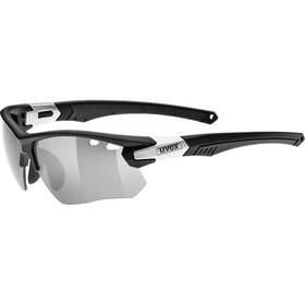 UVEX sportstyle 109 LTD Brille black mat silver/litemirror silver